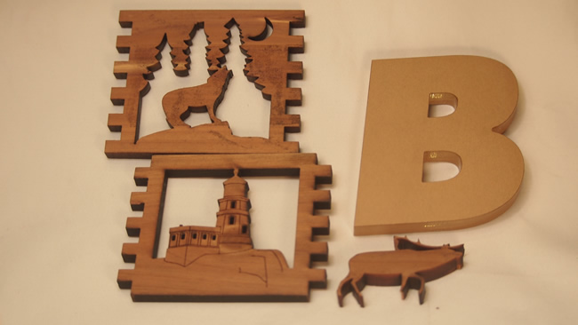 Laser Cut Signs and Displays